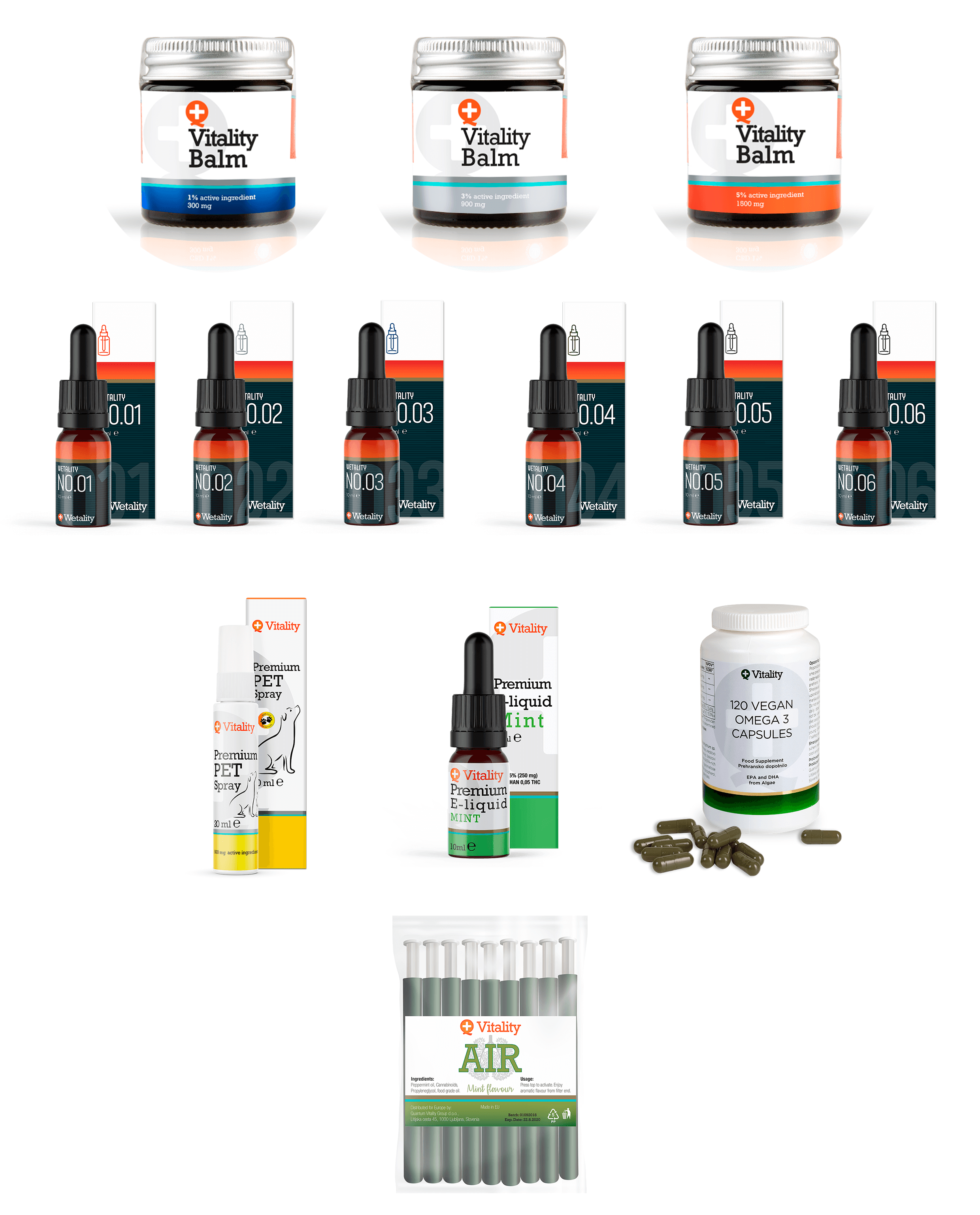 CBD Silkeborg - Produkter samlet